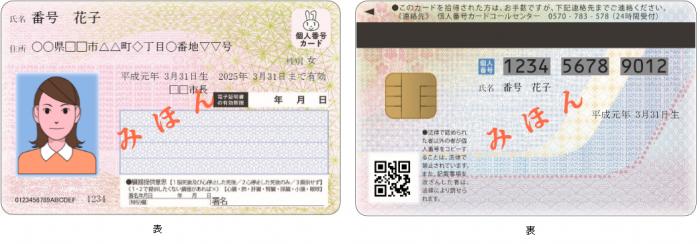 カード 申請 書 センター 個人 受付 交付 番号